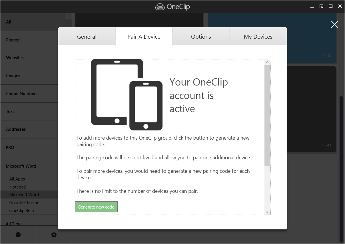 oneclip_pairing