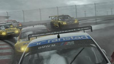 Project Cars is a beautiful racing sim with A I  that drives