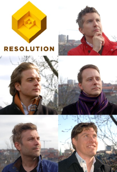 Resolution Games founders. Tommy is in red.