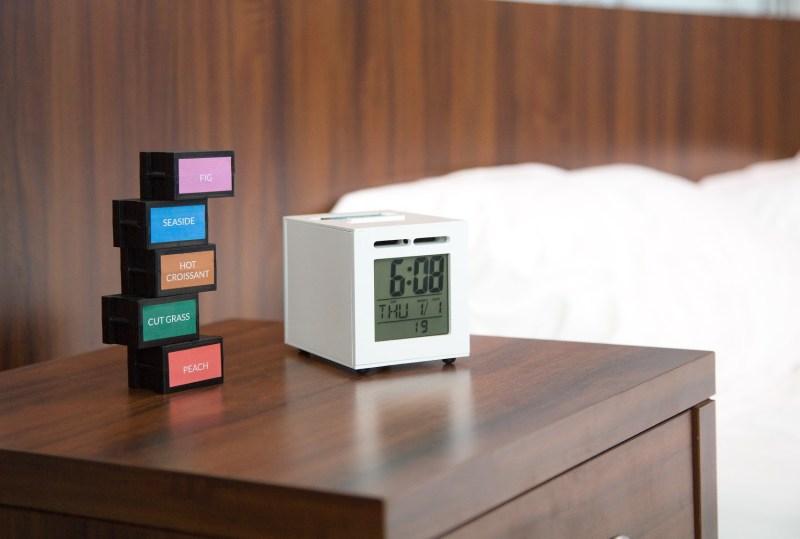 SensorWake wakes you up with smells like coffee.