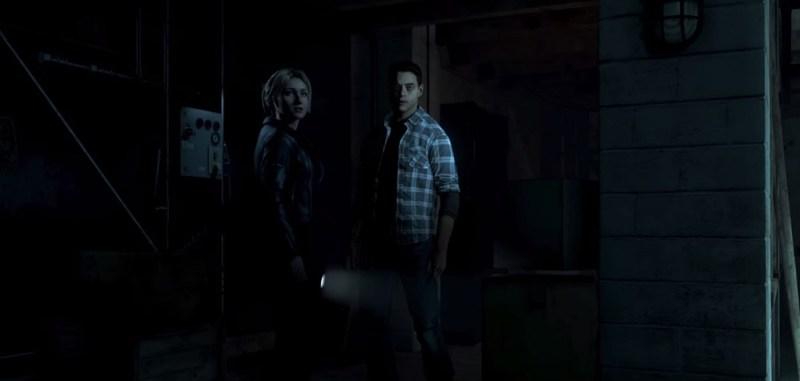 Samantha and Josh in Until Dawn.