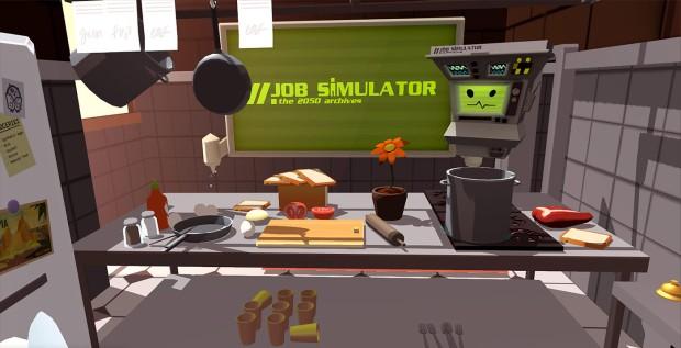 Valve's Job Simulator.