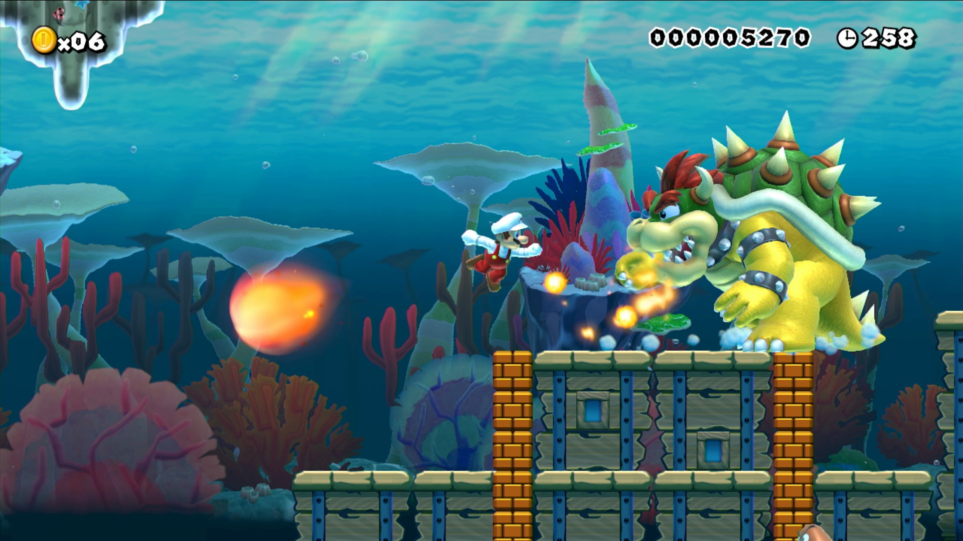 You can make your levels as difficult as you'd like in Super Mario Maker.