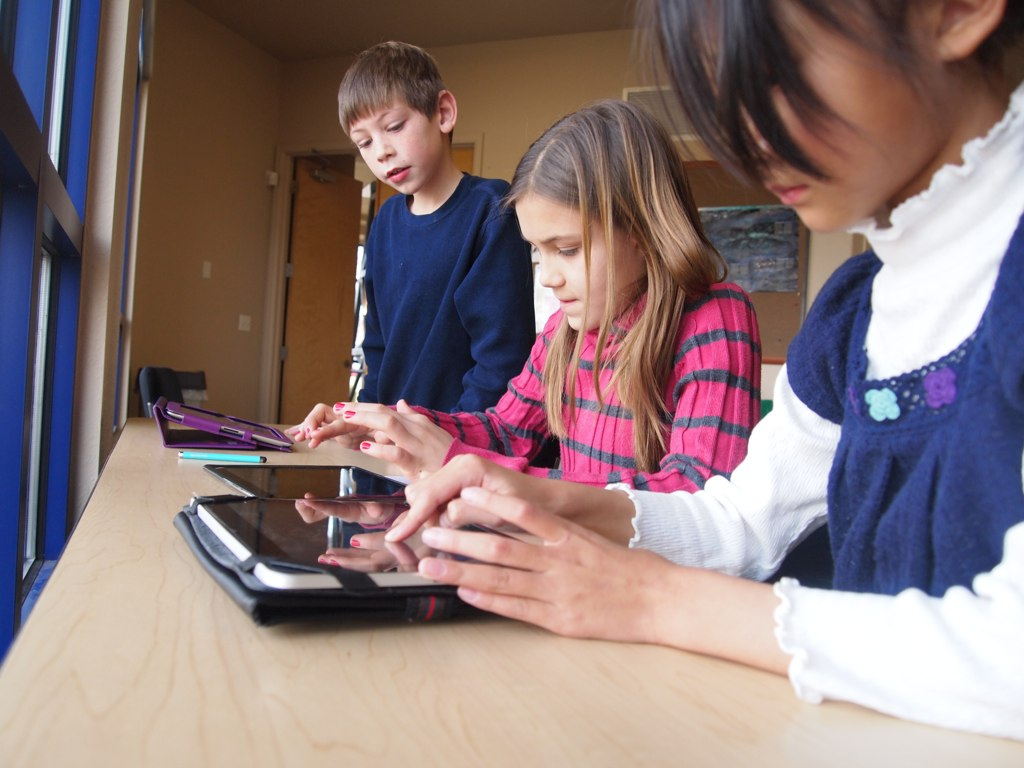 Schools are starting to get devices like iPads that they need to figure out how to use.