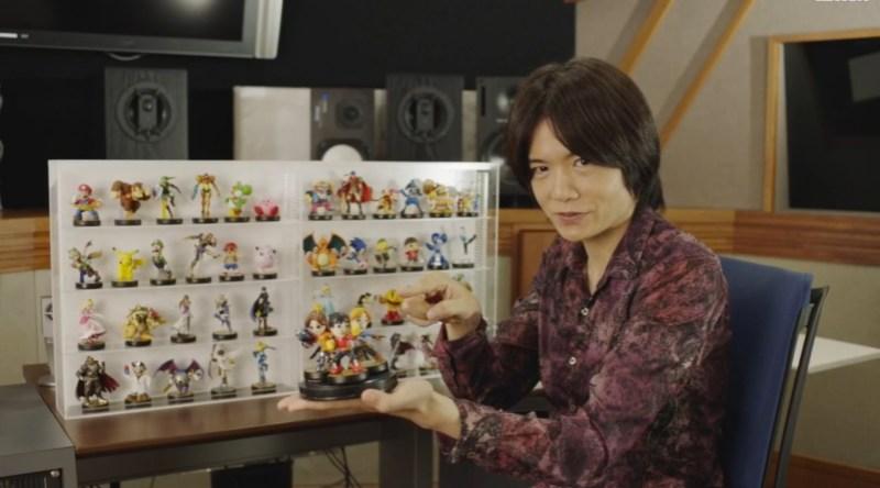 Amiibo reveal Masahiro Sakurai
