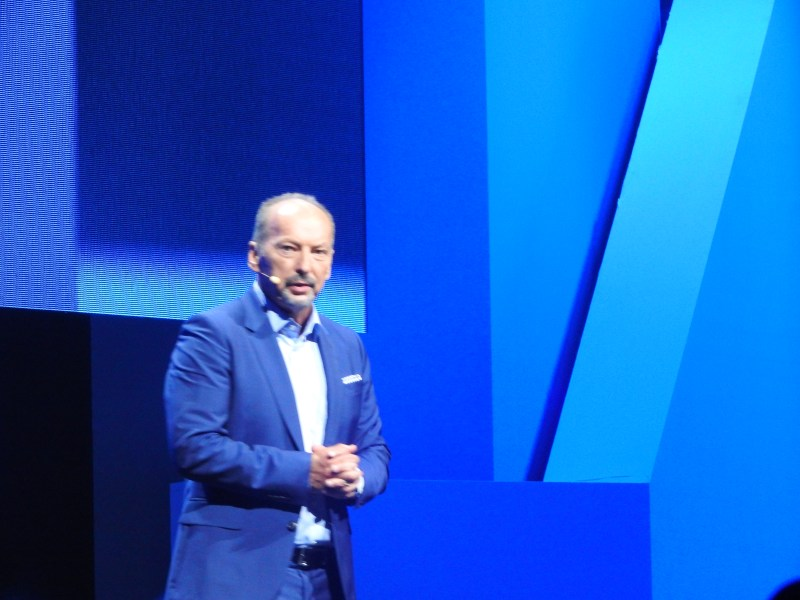 Peter Moore, chief operating officer at EA, at the company's E3 2015 press briefing.