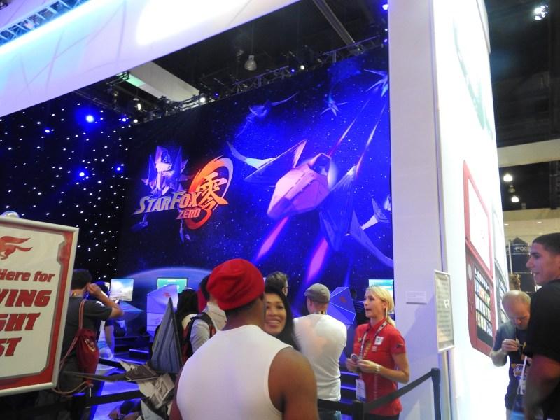 Nintendo booth at E3 2015