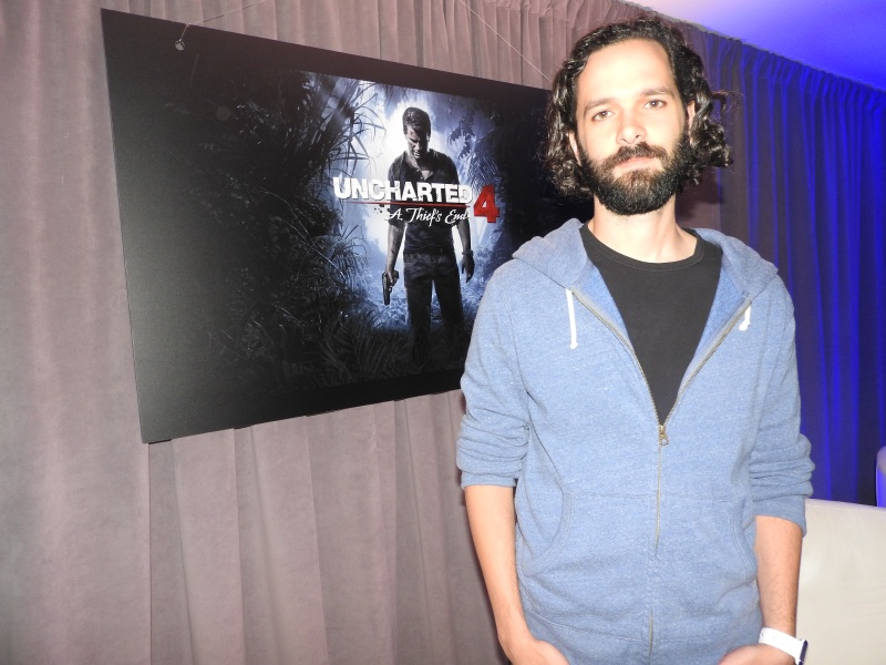 Neil Druckmann of Naughty Dog showed off Uncharted 4: A Thief's End. He emphasized it was the last game for Nathan Drake.