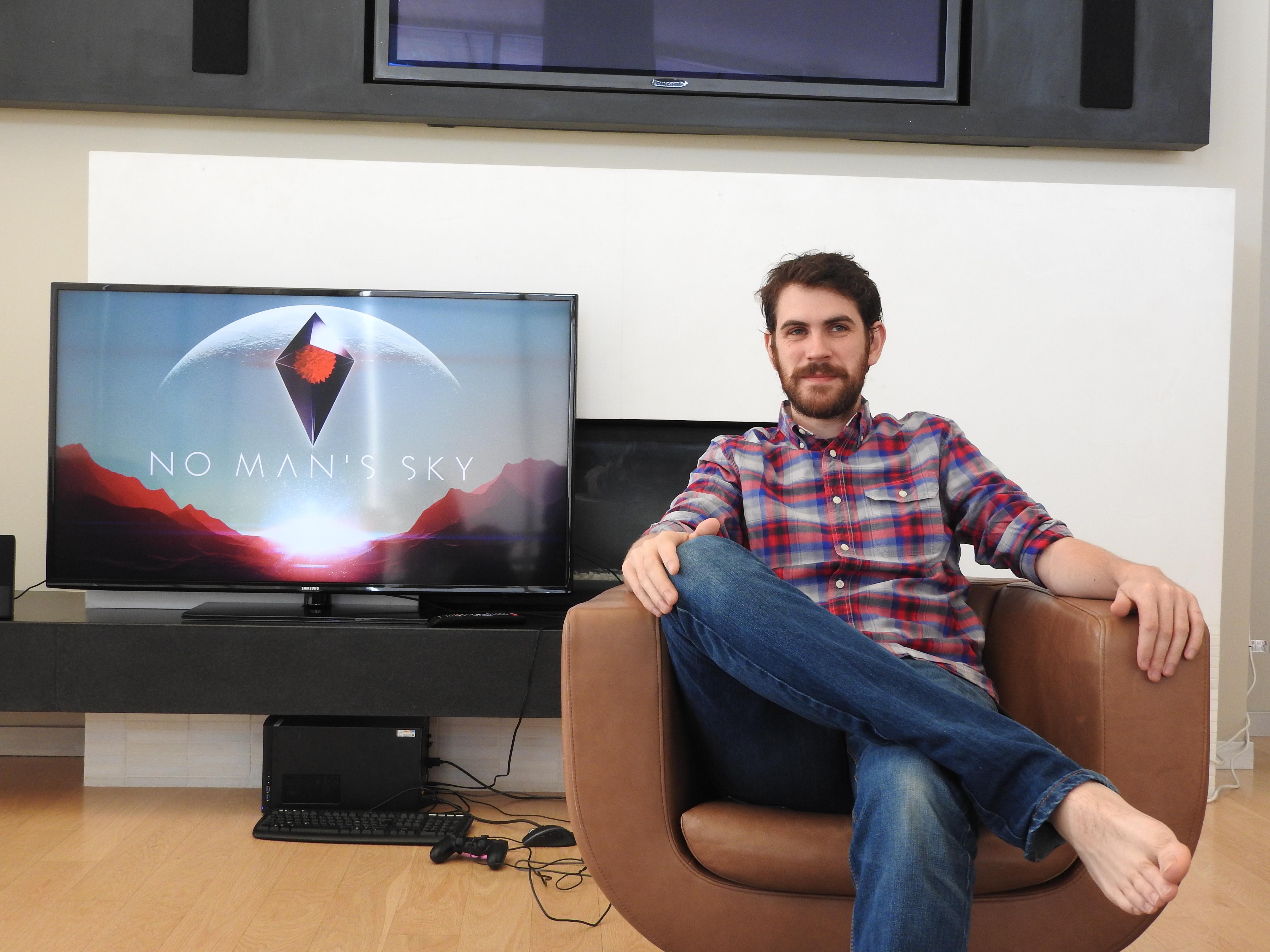 Sean Murray of Hello Games at E3 2015.