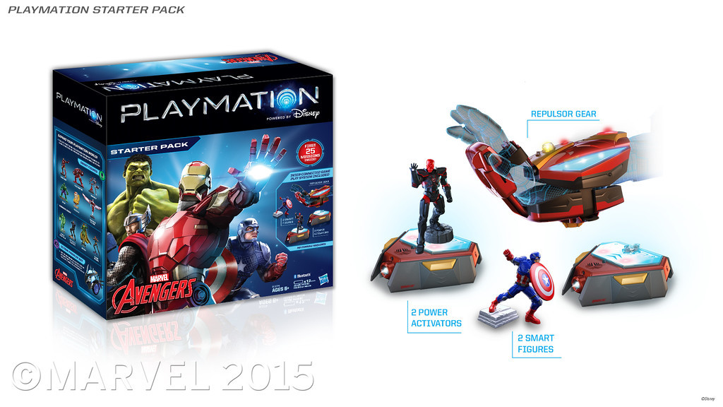 Playmation Bands Together With Toys To Life Games To Suck More Money