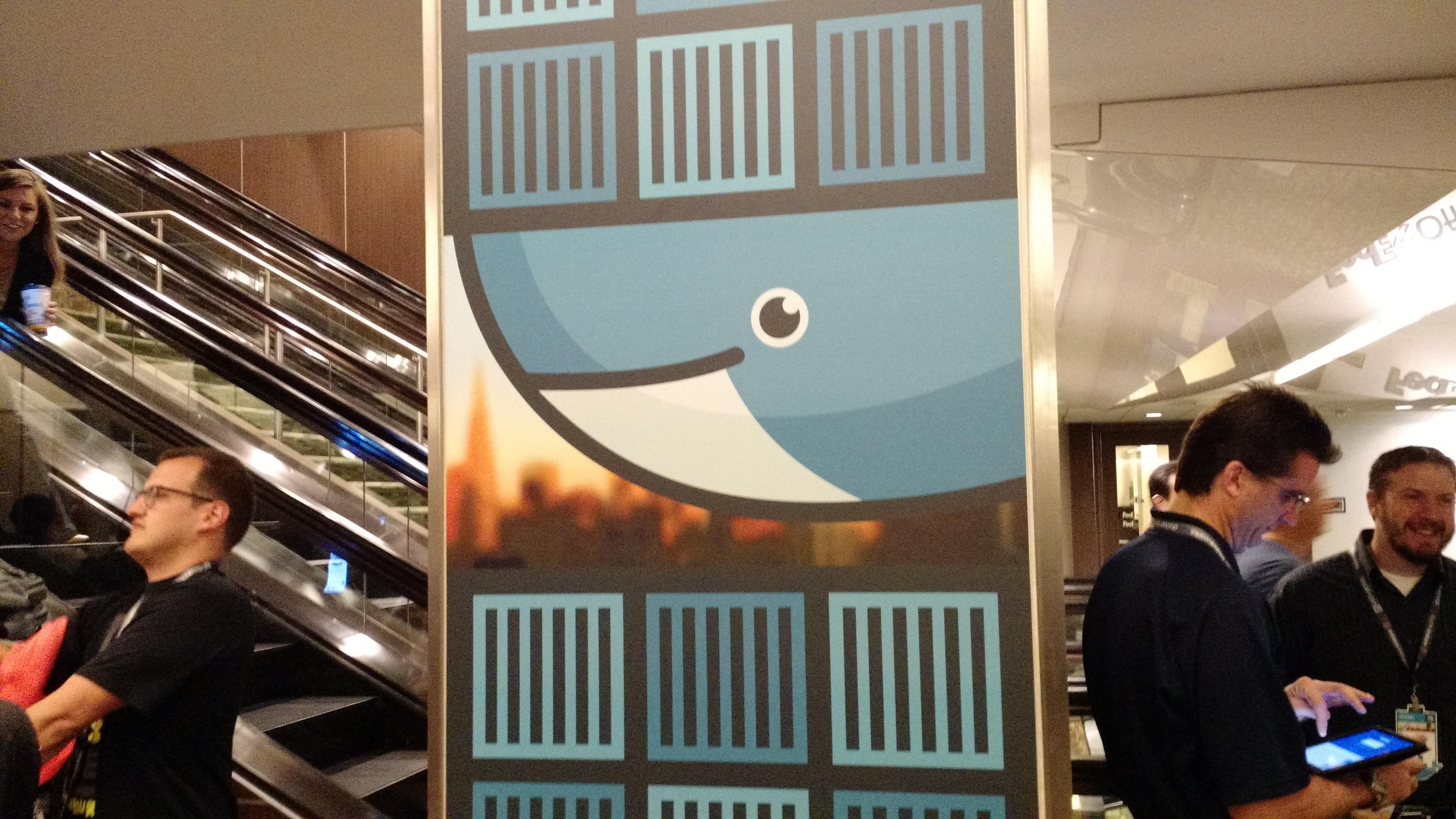 At Docker's DockerCon conference in San Francisco on June 22.