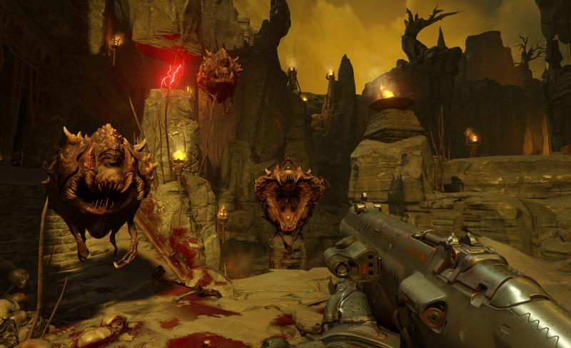 Doom E3 2015 - Cacodemons