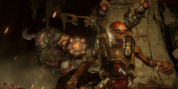 Doom keeps terrifying TV viewers, as Uncharted keeps charting in game ads