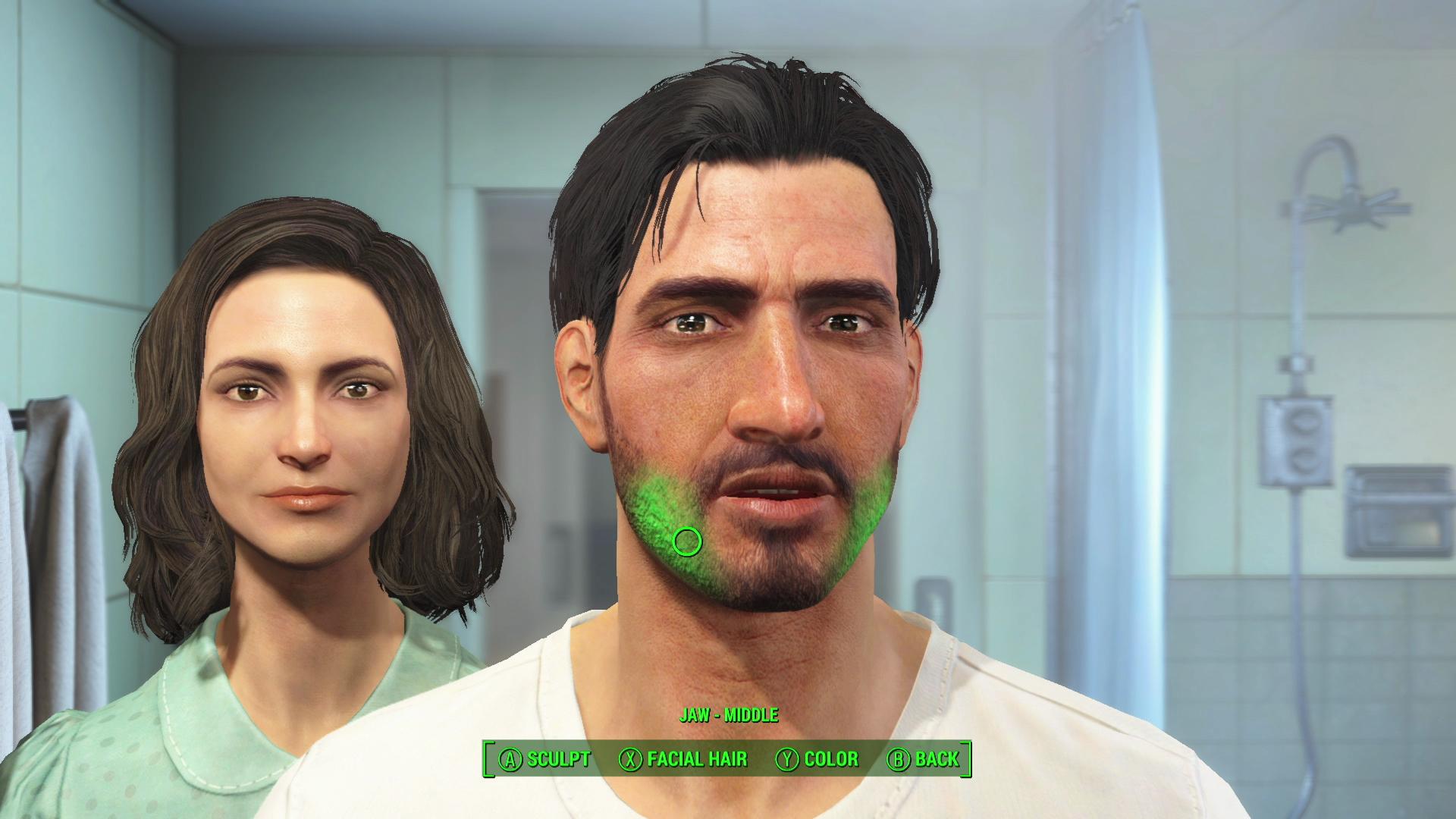Fallout 4 E3 2015 - Face Creation 1