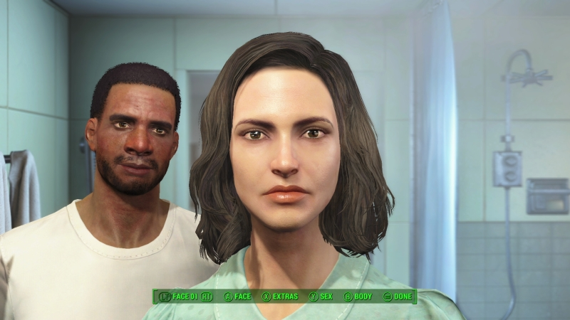Fallout 4 E3 2015 - Face Creation 3