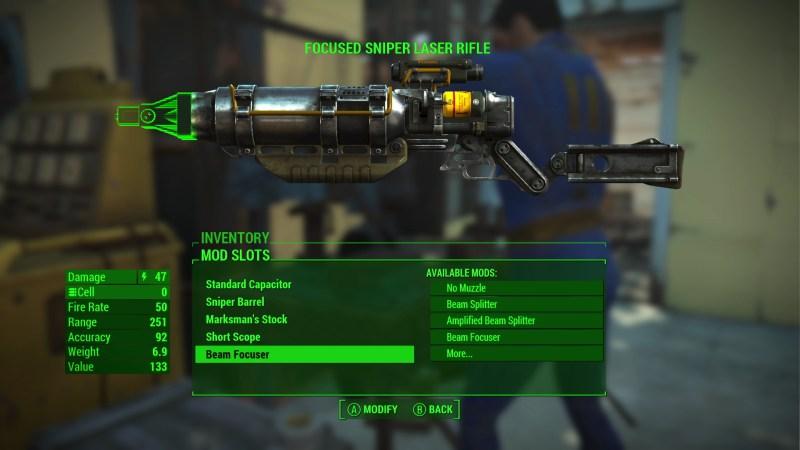 Fallout 4 E3 2015 - Laser Mod