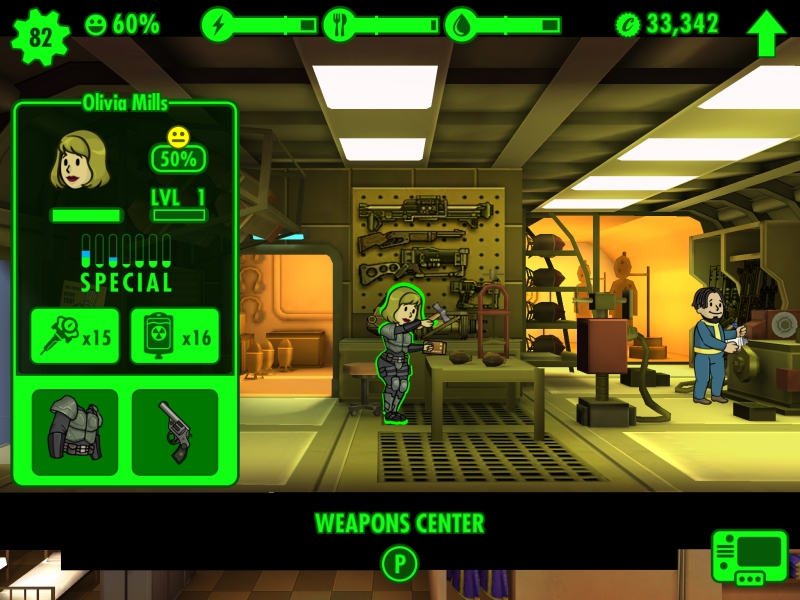 Fallout Shelter E3 2015 - Dweller