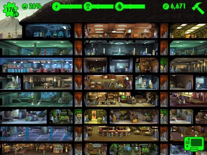 Fallout Shelter E3 2015 - Large Vault