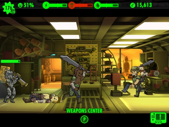 Fallout Shelter E3 2015 - Raiders
