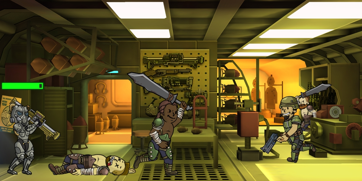 Fallout Shelter E3 2015 - Raiders