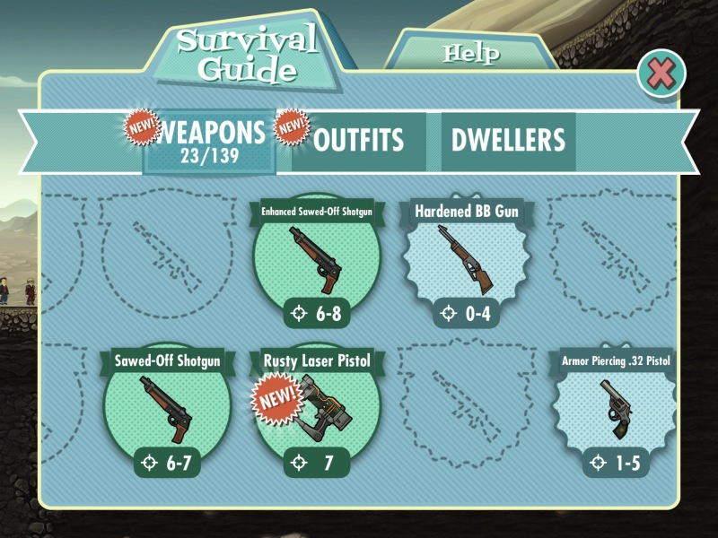 Fallout Shelter E3 2015 - Weapons