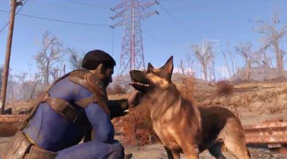 Fallout 4 E3 2015 - Good dog