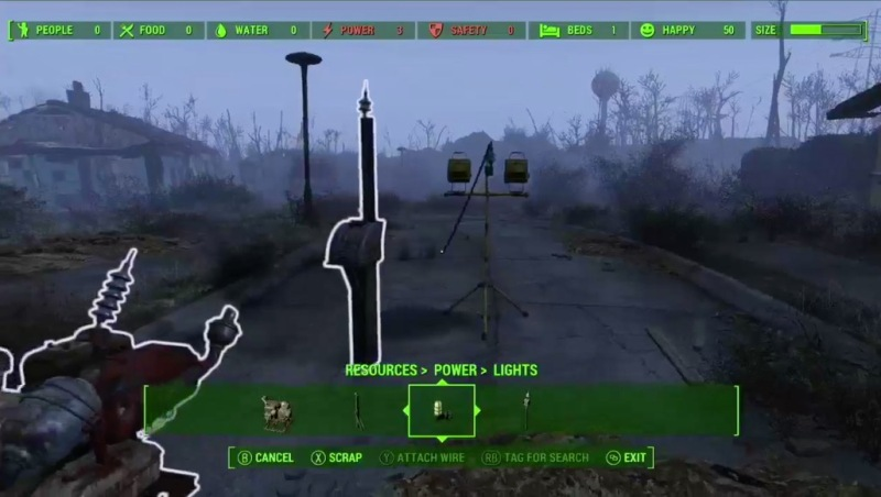 Fallout 4 E3 2015 - generators