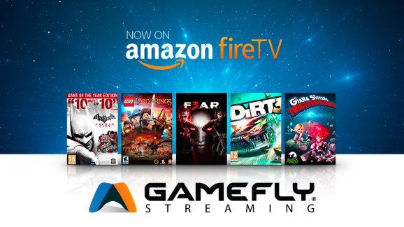 GameFly's streaming service is on mobile and devices like Amazon FireTV.