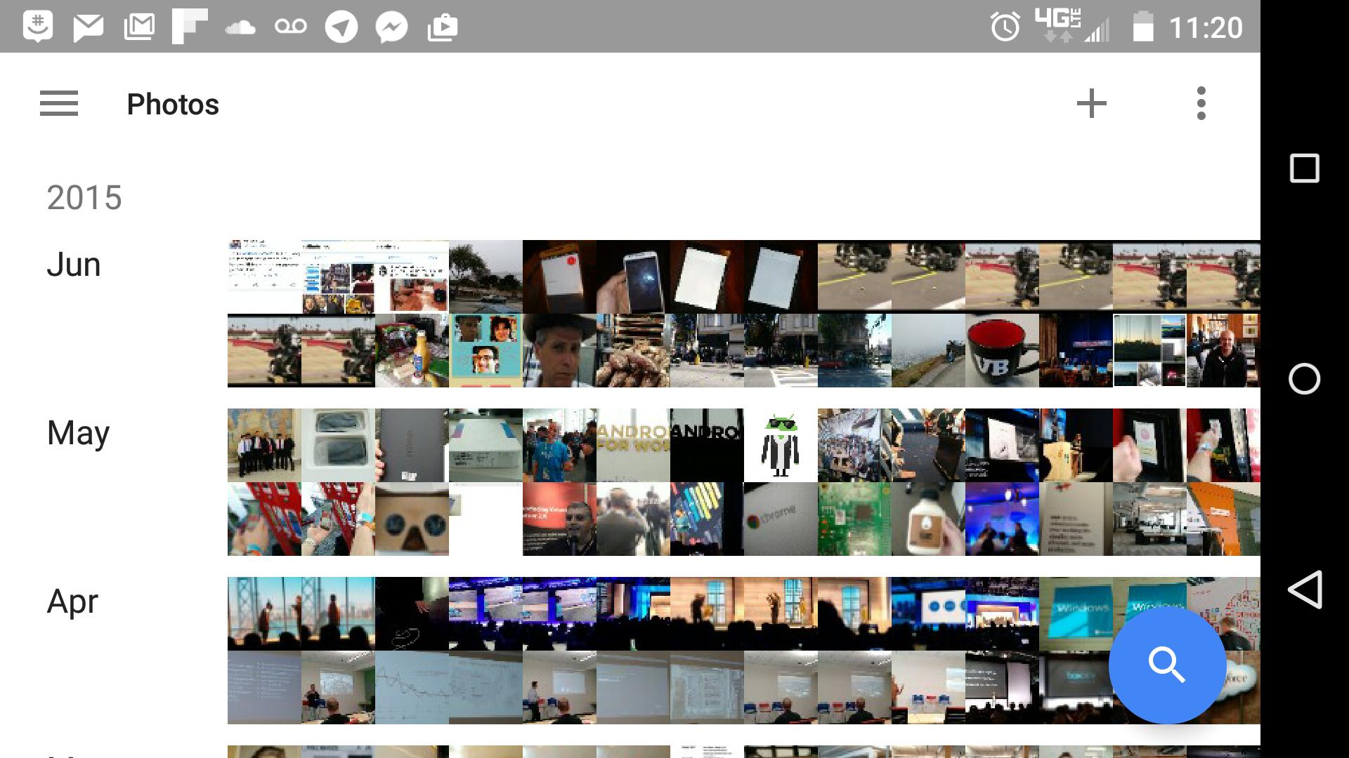 Google Photos on my phone.