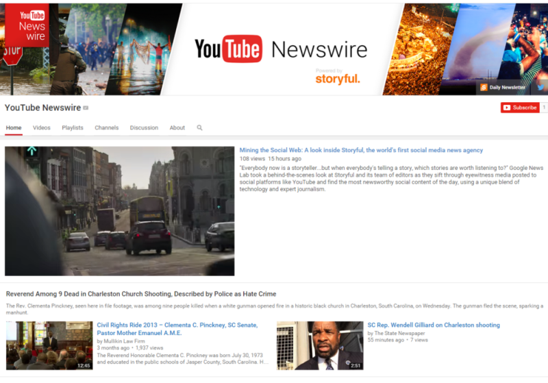 YouTube and Storyful