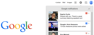 Google+ notifications are now Google notifications in Gmail