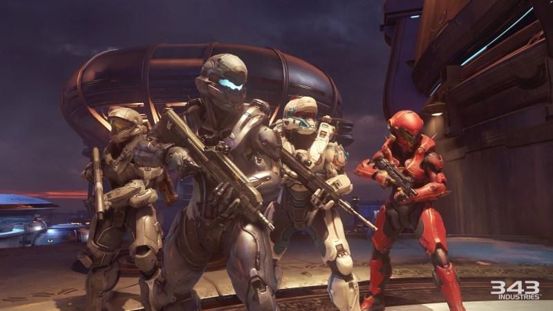 Team Osiris in Halo 5: Guardians.