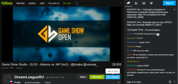Twitch competitor Hitbox is getting 4K livestreaming at 60 frames ...