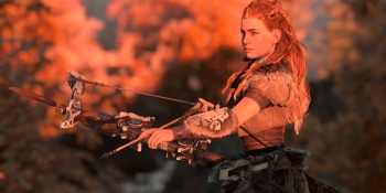 Horizon: Zero Dawn's hero is fighting against religion as much as robot dinosaurs