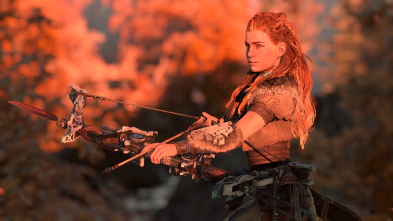 Aloy, the hero of Horizon: Zero Dawn.