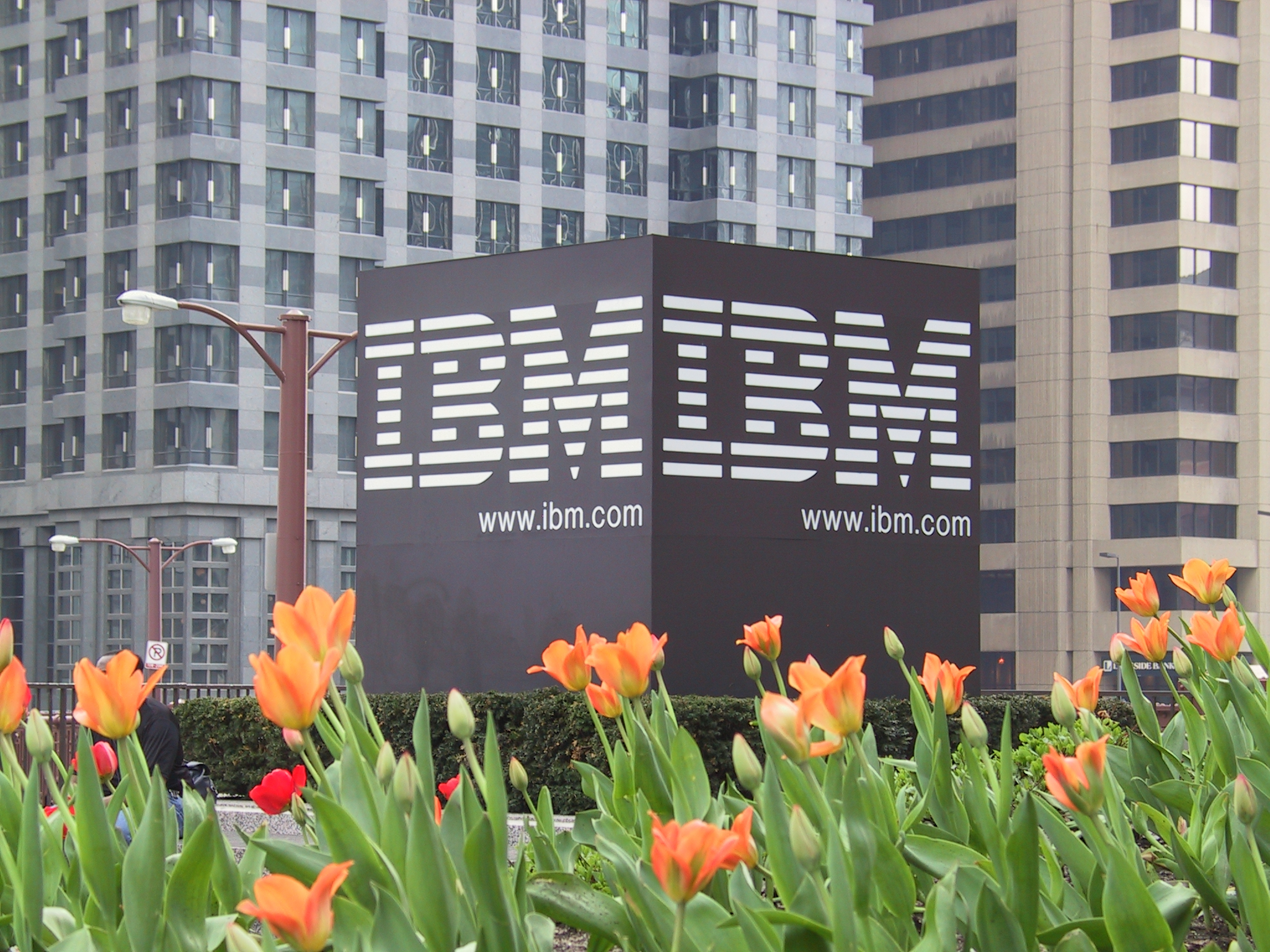IBM sign Alfred Lui Flickr