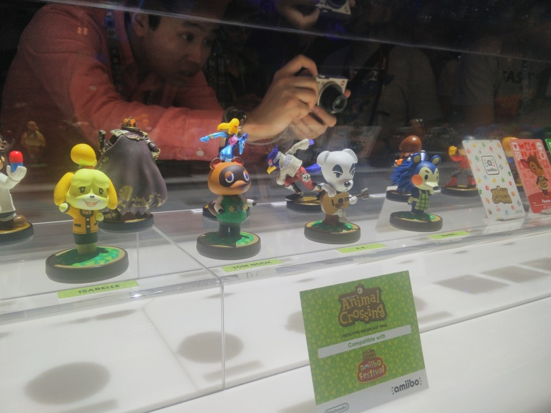 Nintendo is bringing gamers most of the popular characters from the latest 3DS Animal Crossing, New Leaf.