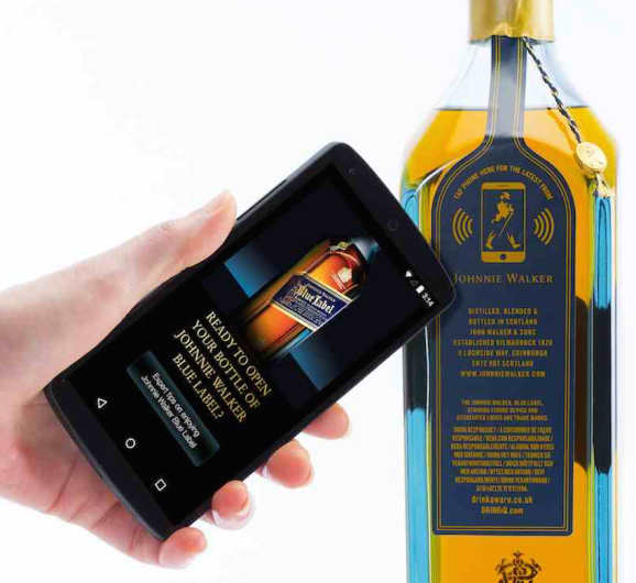 A smarter Johnnie Walker whiskey