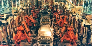Businesses ordered 35,000 robots last year, mostly for assembly line automation