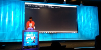 Microsoft exec builds an app with Docker for both Windows Server and Linux