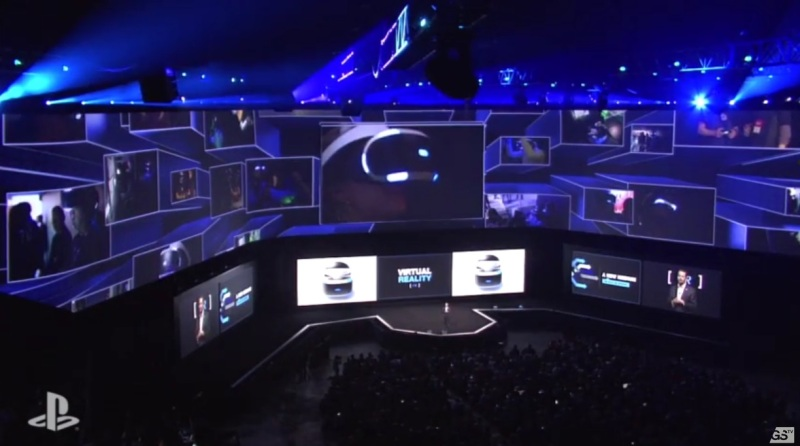 President and Group CEO of Sony Computer Entertainment Andrew House talks about the virtual reality headset Morpheus at Sony's E3 2015 press conference.