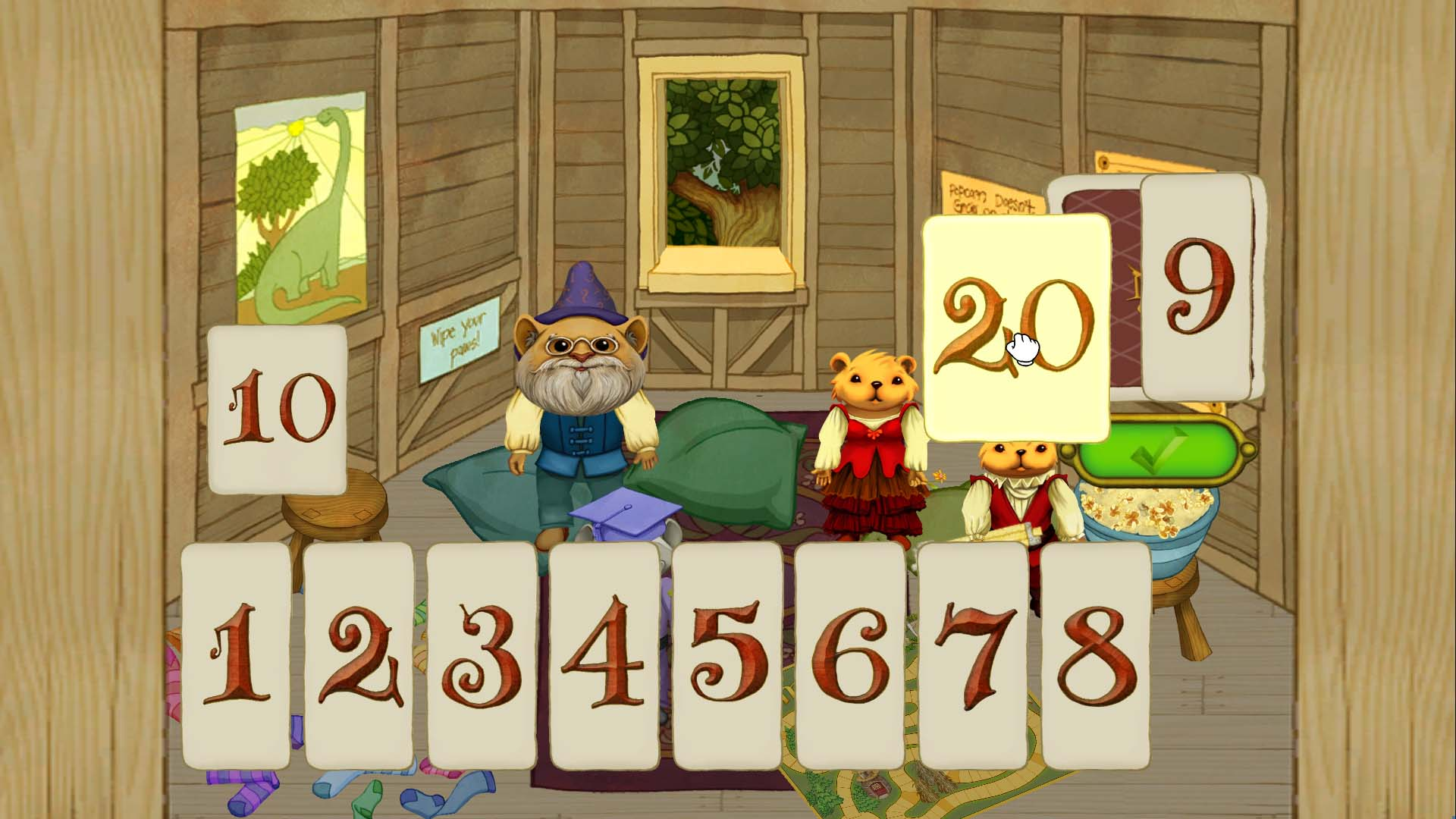 NumberShire from Thought Cycle is designed to help kids struggling with simple number concepts.