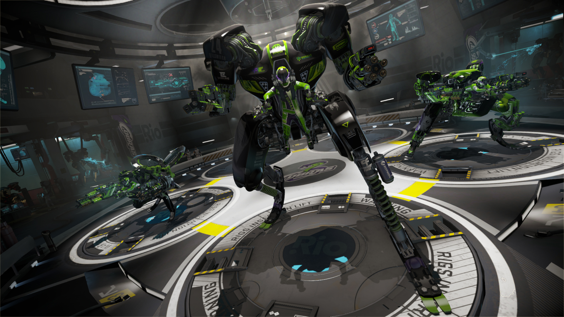 Watch us play Rigs, the PlayStation VR mech shooter | VentureBeat