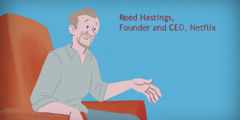 The Netflix startup story (video)