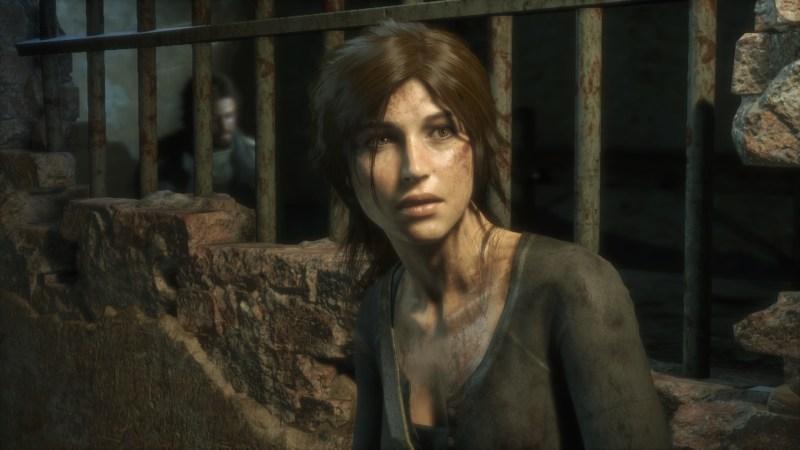 Lara Croft in Rise of the Tomb Raider.