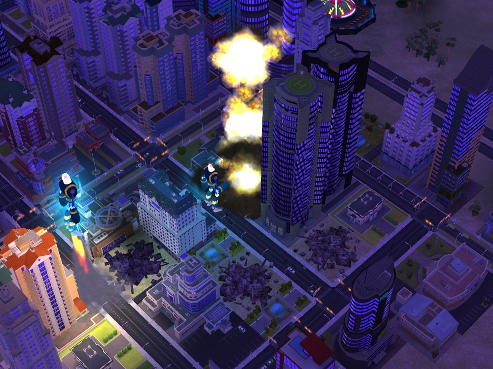 Robot Disaster SimCity BuildIt