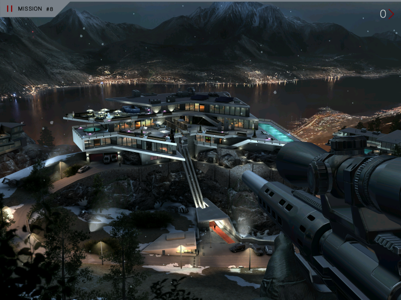 Hitman: Sniper's levels are highly detailed.
