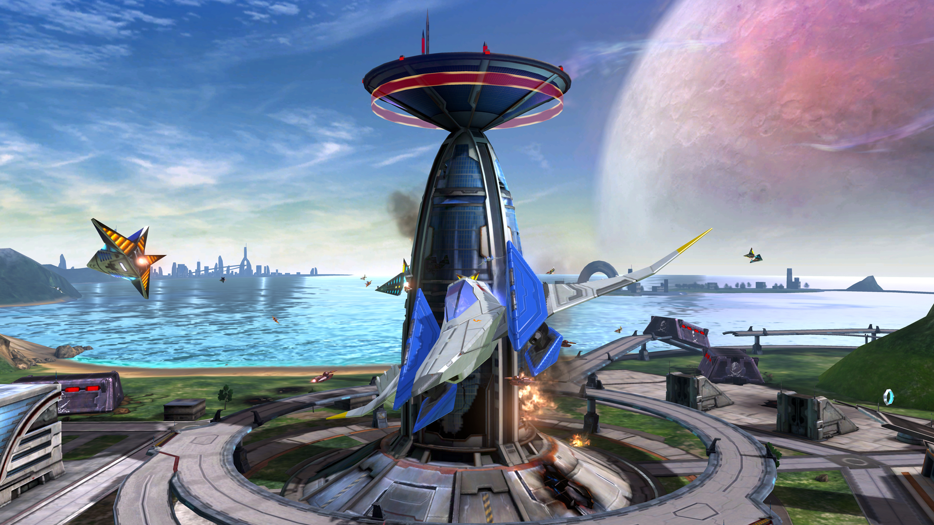 Star Fox Zero doesn't seem to have a whole lot going for it outside of its motion controls.