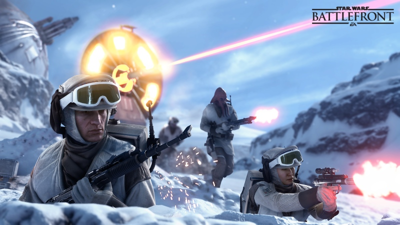 Battlefront is giving us a whole new look at the Battle of Hoth.