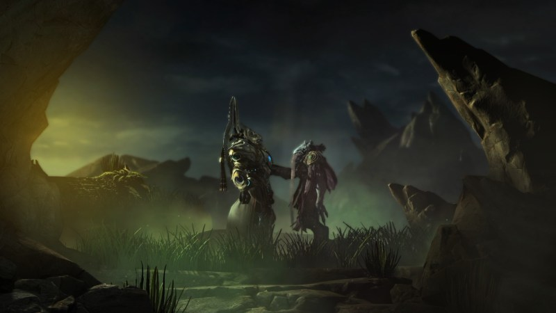 Old friends in StarCraft II: Legacy of the Void.